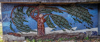 Донецьк. Школа № 5. Комплекс мозаїк