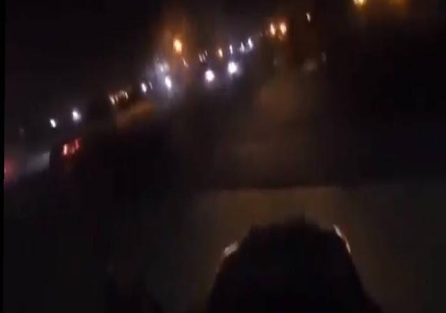 VIDEO.- En otro video se ve como La Guardia Nacional se la raja vs El CJNG y Cárteles Unidos en Michoacán, ahí donde el pueblo agrede a Militares