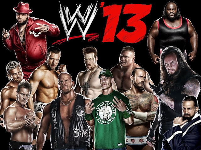 WWE 13 PC Game Special Editon Cover