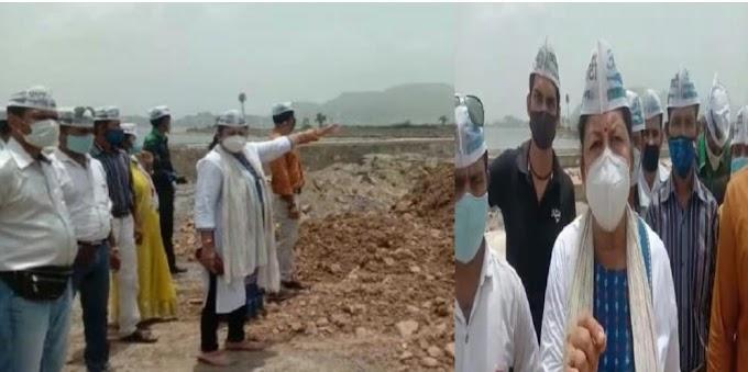 जब बाड़ ही खेत को खायै....स्मार्ट सिटी की आड़ में आनासागर के अस्तित्व को मिटाने पर उतारू हैं अधिकारी -Kirti Pathak AAP
