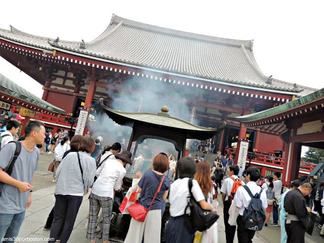 Templo Sensō-ji en Tokio