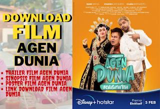 Download Film Agen Dunia Full Movie 2021