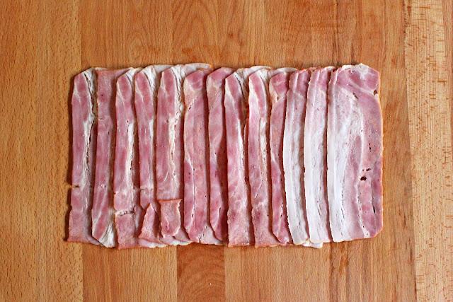 Καραμελωμένο Χοιρινό Ψαρονέφρι τυλιχτό με Μπέϊκον και Πατάτα πιρουνάτη / Pork Tenderloin Wrapped with bacon and Mashed Potatoes