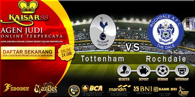 Prediksi Bola Jitu Tottenham Hotspur vs Rochdale 1 Maret 2018