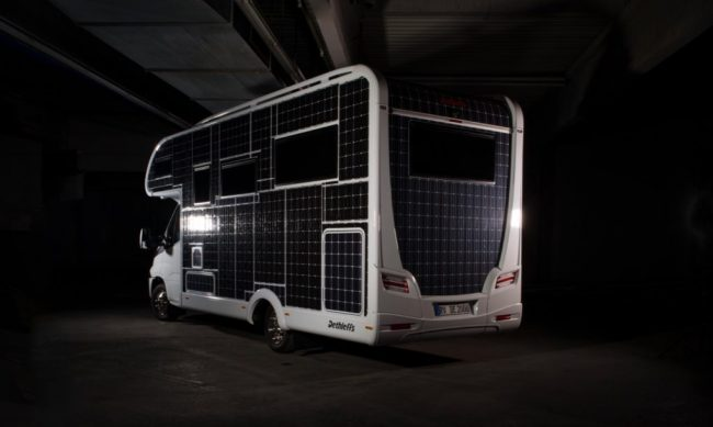 Solar-Powered Motorhome Runs Without Fuel Or Charging Stations
