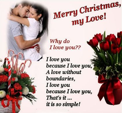 Christmas Greetings Quotes for Lover My Love