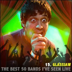 The Best 50 Bands I've Seen Live: 15. Glassjaw