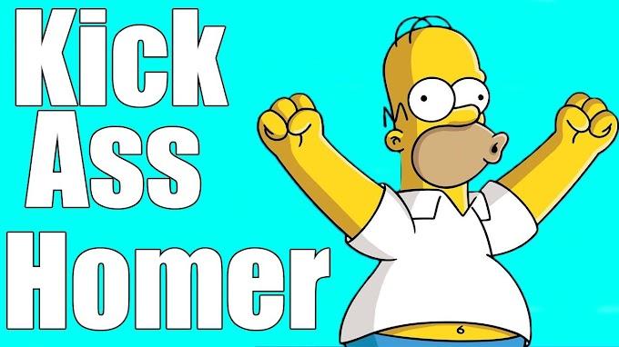 Nossa Opinião sobre o Os Simpsons – Kick Ass Homer