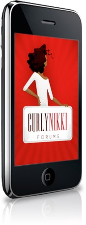 CurlyNikki Mobile App and New Forums
