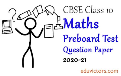 Class 10 Maths  CBSE Preboard Sample Question Paper (Set-8) 2020-21(#eduvictors)(#class10Maths)(#cbsepapers)