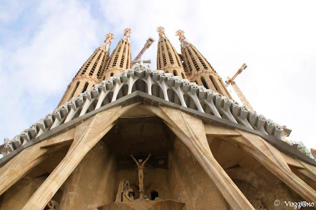 Facciata della Passione della Sagrada Familia
