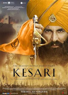 Kesari 2019 Hindi Full Movie 350MB DVDScr Download