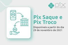 PIX Saque e PIX Troco entram em vigor a partir de 29 de novembro