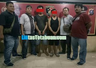 Dua Pembongkar Kios Ponsel Jaya Pelangi Ditangkap Unit Resum Polres Labuhanbatu