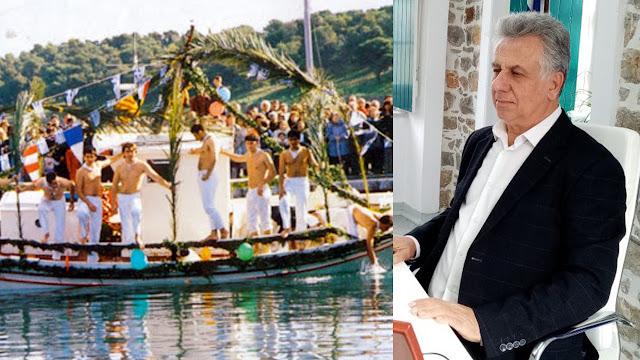 """Τηλεδιάσκεψη Δημάρχου με τους νέους της Ερμιόνης που θα συμμετείχαν στο έθιμο των Θεοφανείων """"Γιάλα – Γιάλα"""""""