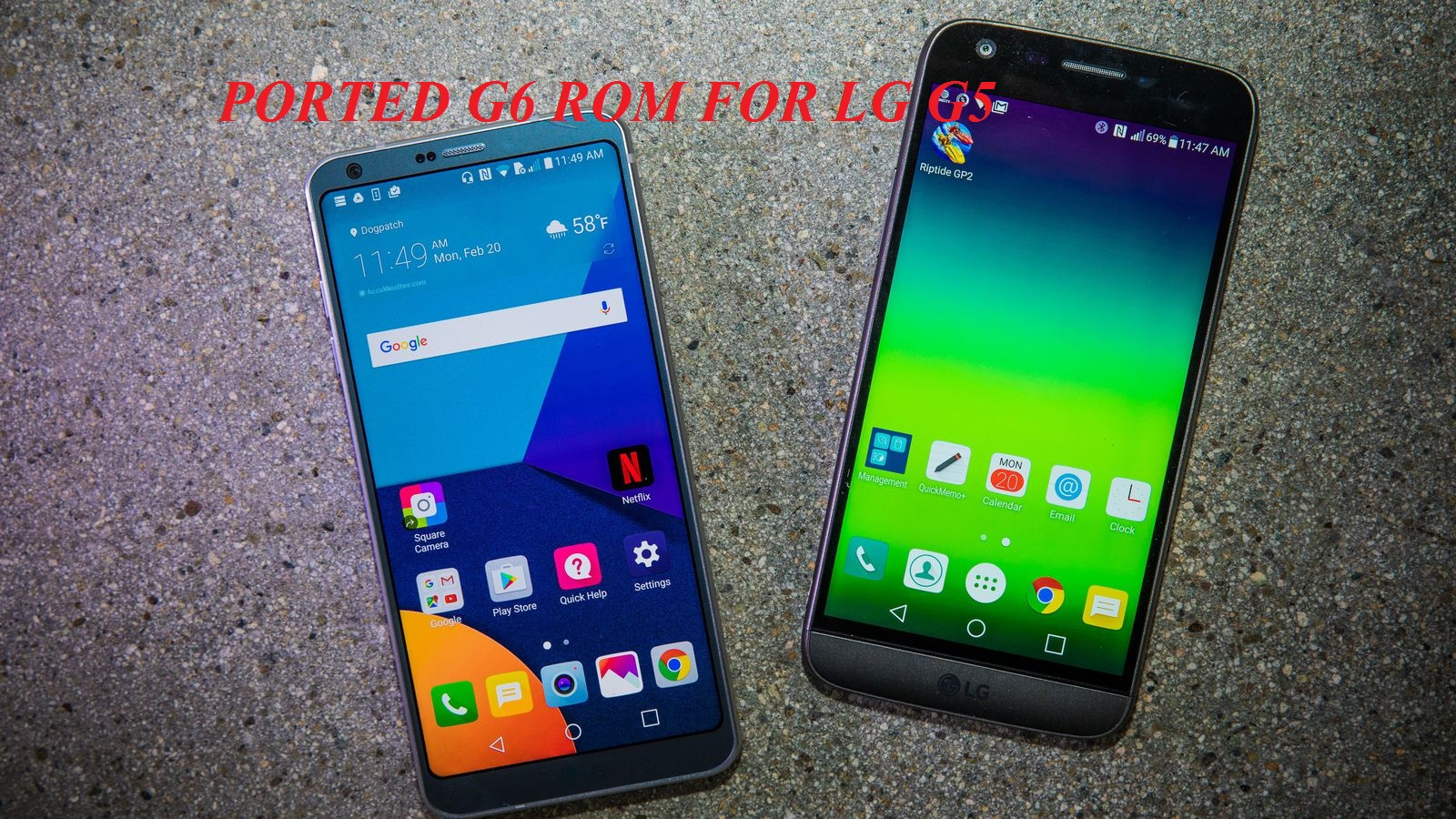 Ported G6 UX 6 0 ROM For LG G5 - TechZai