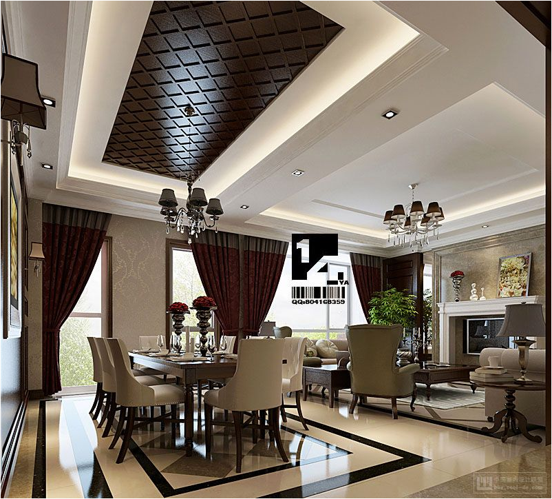 Modern Chinese Interior Design: Asian Dining Room Design Ideas