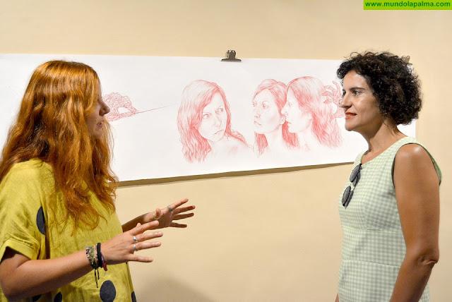 El Cabildo presenta la muestra de dibujos de Beatriz Pérez Pacheco en 'Ejercicios espirituales'