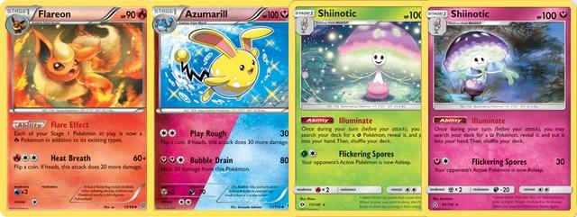 Cartas Pokémon Tipo Duplo