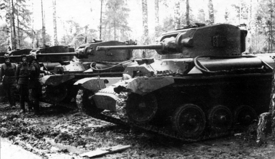 Tanks With The Same Armour As The Valentine II In Kubinka. The Photo Is  Labelled As Being Taken On The Western Front In 1942, But Judging By The  Tankersu0027 ...