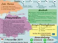 Lomba Karya Tulis dan Desain Nasional 2019 di Universitas Pembangunan Nasional
