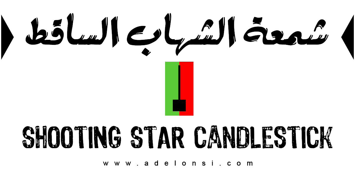 شمعة الشهاب الساقط  Shooting Star Candlestick