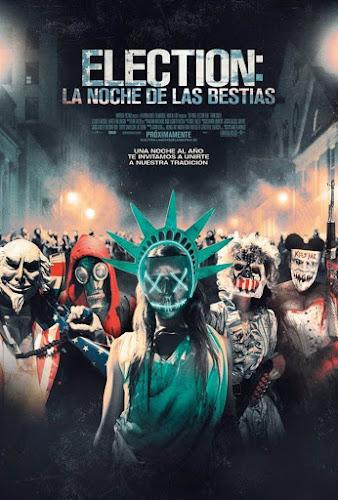Cartel: Election: La noche de las bestias (2016)