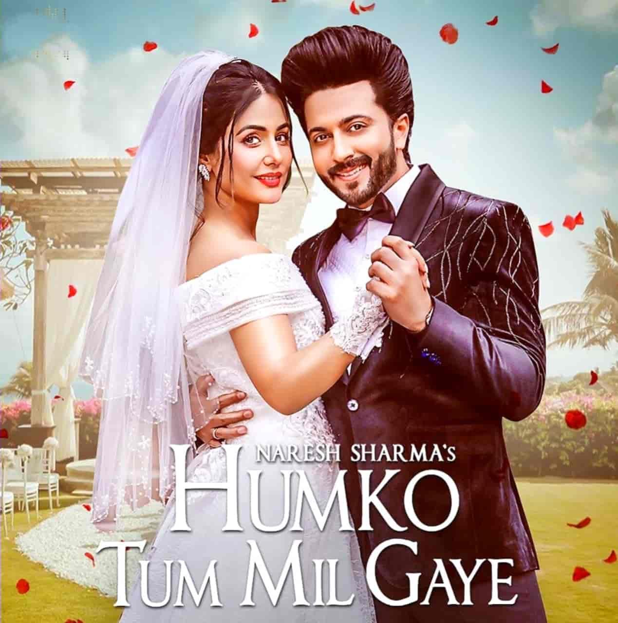 Humko Tum Mil Gaye Hindi Song Image Features Hina Khan & Dheeraj Dhoopar.