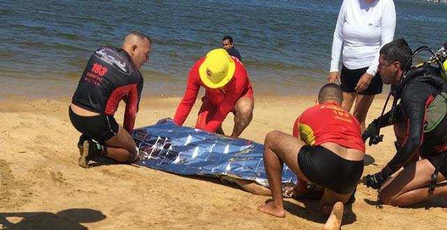 Turista paraibano morre afogado na lagoa de Pitangui em Extremoz no RN