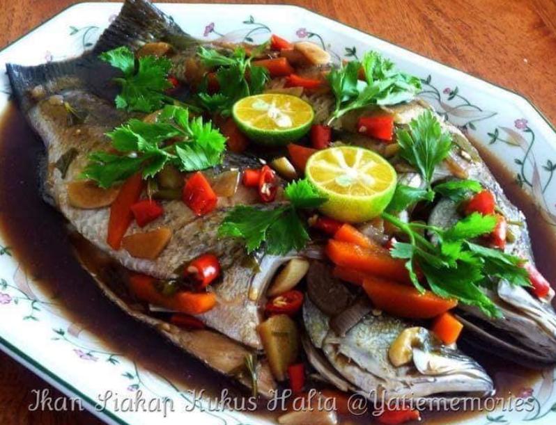 Resepi Ikan Siakap Mudah Dan Sedap