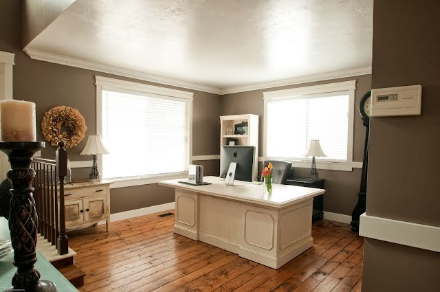 Formal Dining Rooms Turned Offices