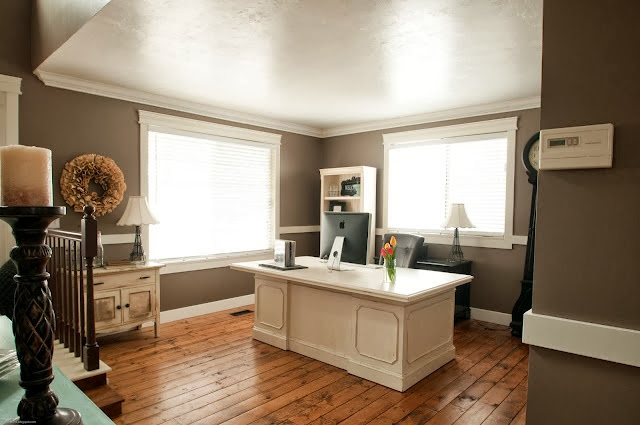 Formal dining rooms turned offices - Turning a living room into a dining room ...