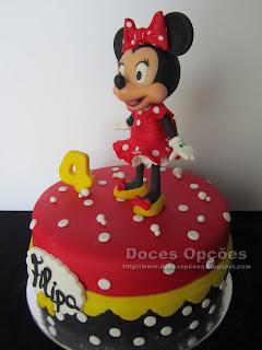 bolos decorados minnie  bragança
