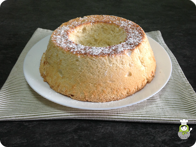 receta angel food cake