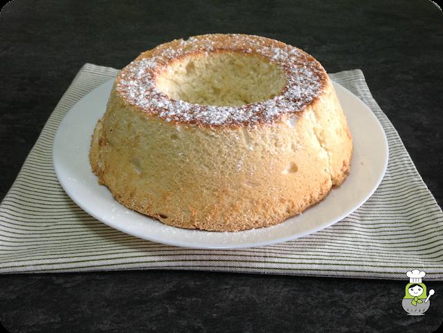 receta angel food cake