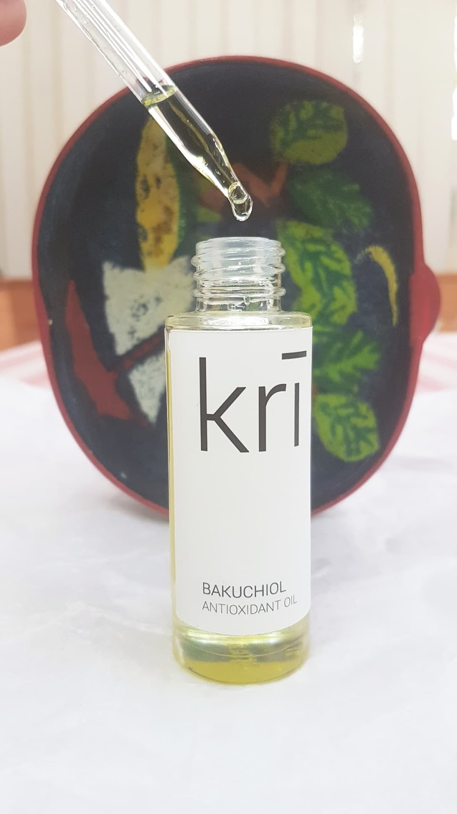 Kri Skincare - Bakuchiol Antioxidant Oil Review
