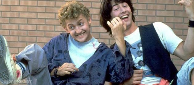 sinopsis bill and ted excellent bercerita