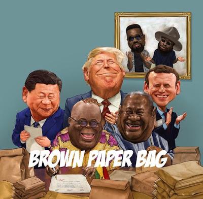 Sarkodie Ft M.anifest - Brown Paper Bag (Prod. By Nova - Audio MP3)