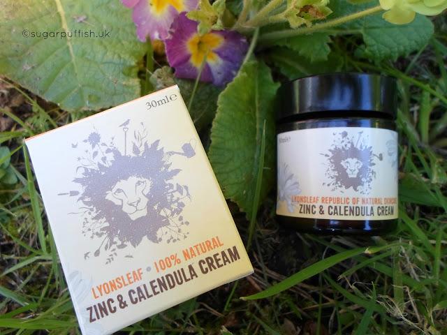 Review Lyonsleaf Zinc & Calendula Cream