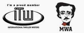 "Member, <a href=""http://thrillerwriters.org/"">International Thriller Writers</a>"