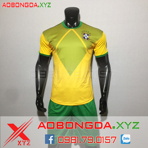 Áo Đội Tuyển Brazil 2019-2020 Training