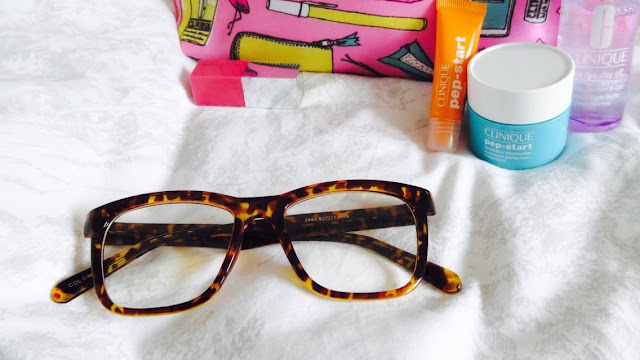 GlassesShop Tortoiseshell Glasses & Clinique Spring Gift Time Gift
