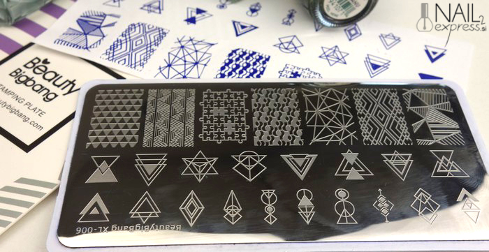 Beauty Big Bang stamping plate XL-006_ocena