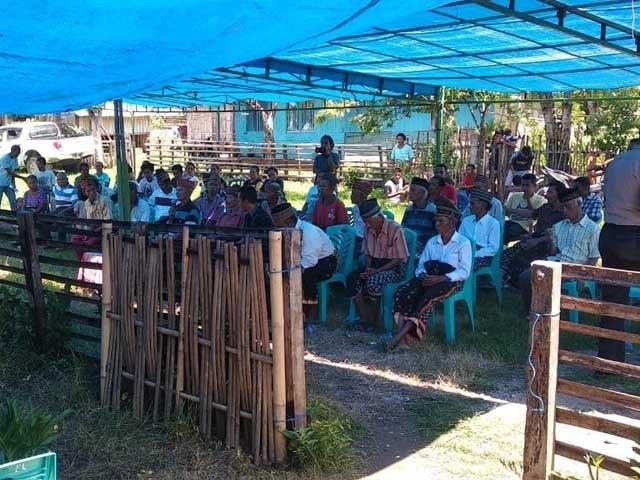 Penolakan Warga tidak mematahkan niat pemerintah membangun pabrik semen di Lingko Lolok