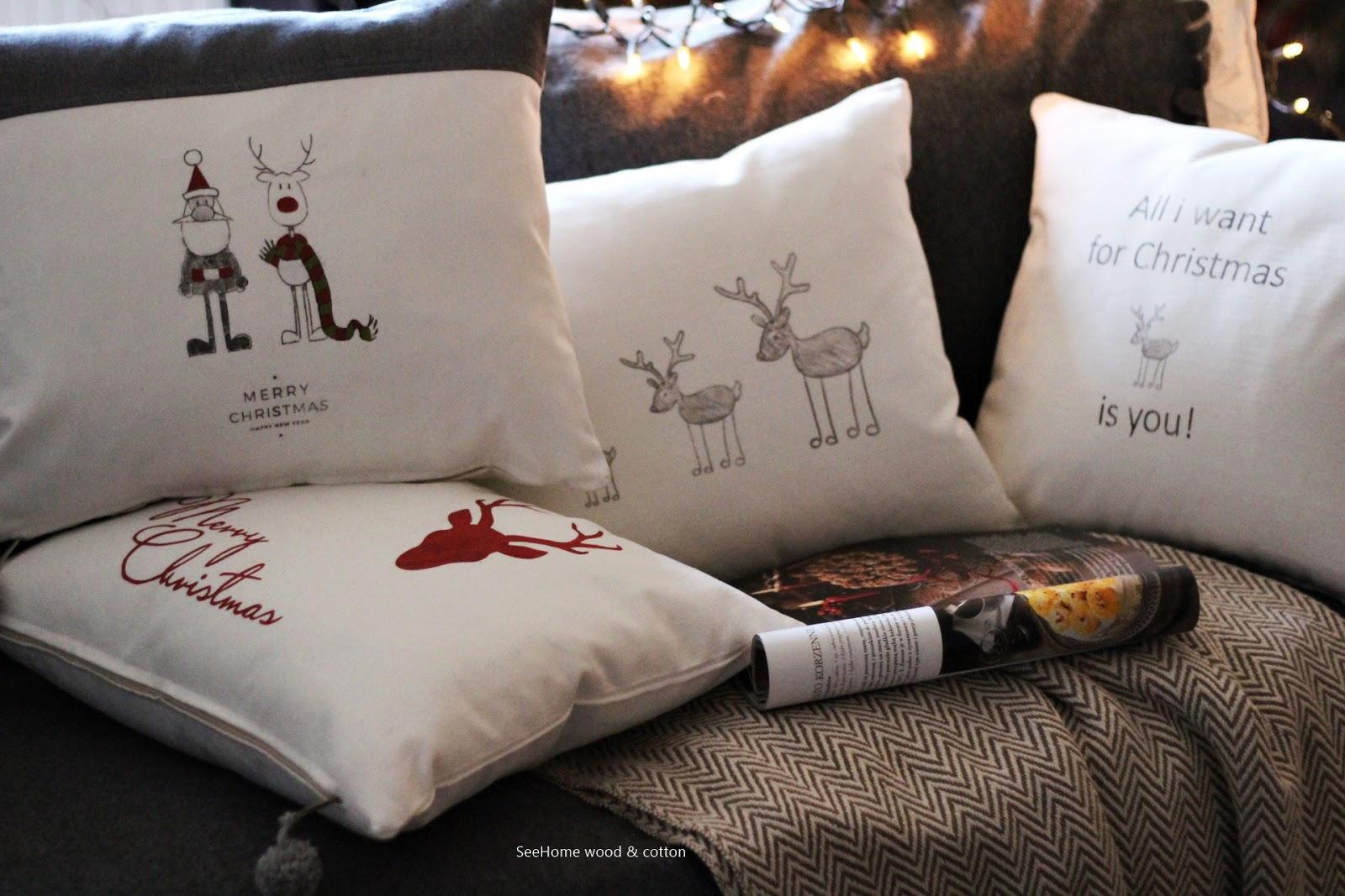 Seehome Shop świąteczne Poszewki Na Poduszkę