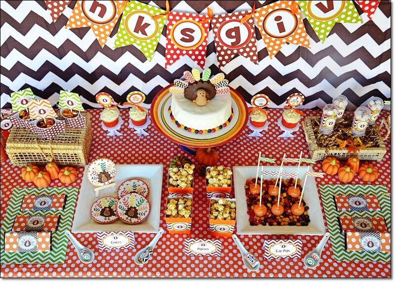 Thanksgiving Party and Decoration Ideas