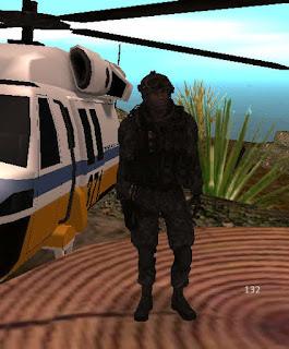 Kaskli Askeri Skin Havaci