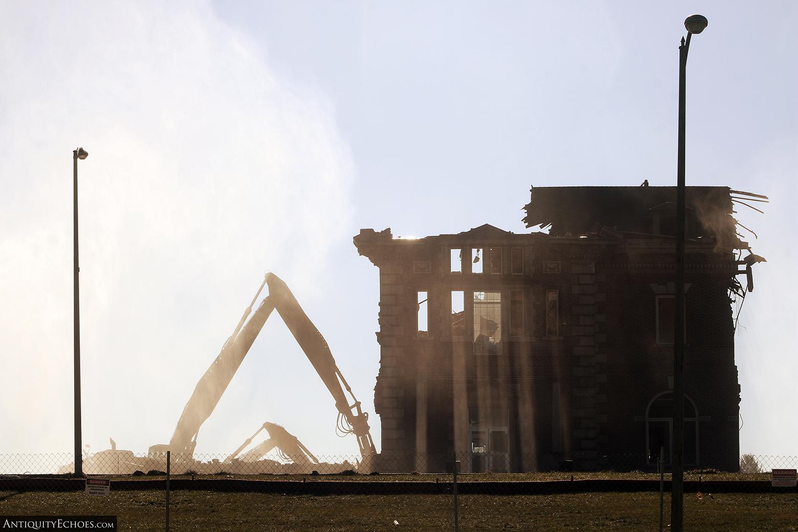 Allentown State Hospital - Demolition - Wreckage