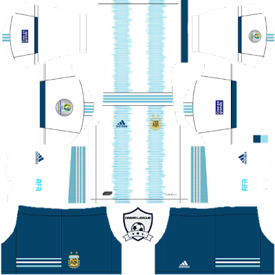 argentina 2019 copa america home kit dls 1