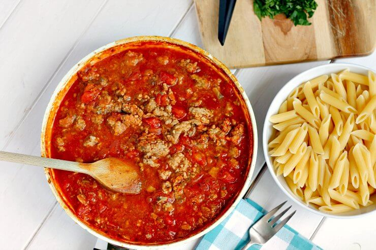 Turkey Bolognese